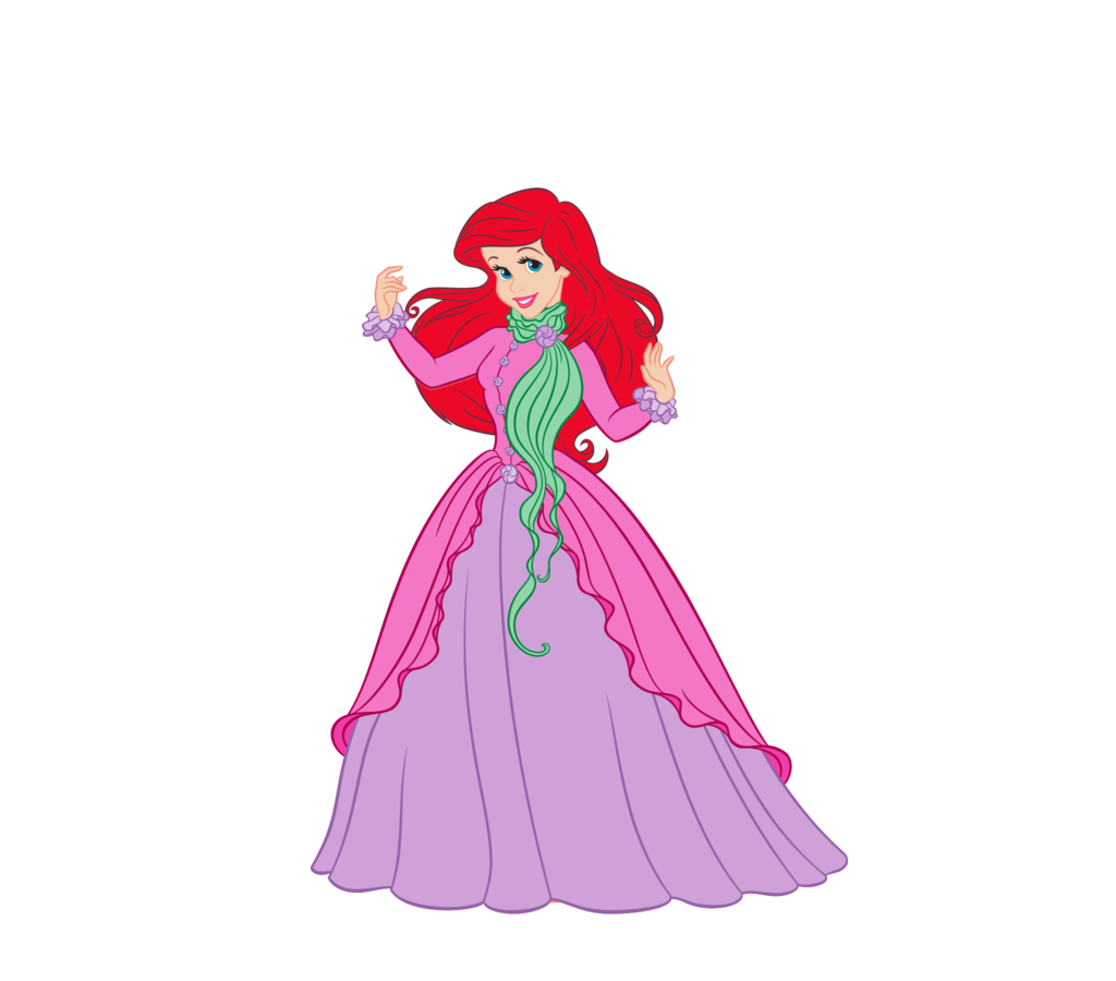 Платье принцессы ариэль своими руками